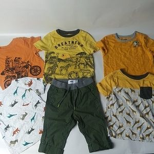 🌴🐊🐆🐫old navy bundle baby boy size 2T